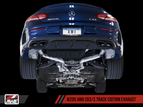 AWE Track Edition Exhaust 2015-2018 AMG C63/S W205 | Torrent Motorworks