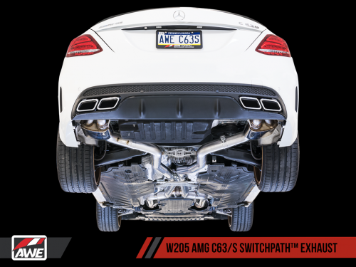 AWE SwitchPath Exhaust 2015-2018 AMG C63/S W205 | Torrent Motorworks
