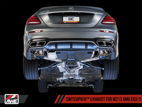 AWE SwitchPath Exhaust AMG E63 W213 | Torrent Motorworks