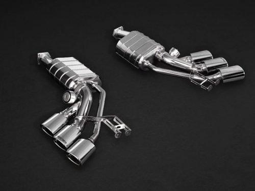 Capristo Valved Exhaust (Triple Tip) G63 W463 | Torrent Motorworks