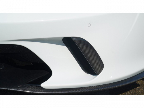 Novitec McLaren GT carbon fiber front spoiler attachment in New York | Torrent Motorworks