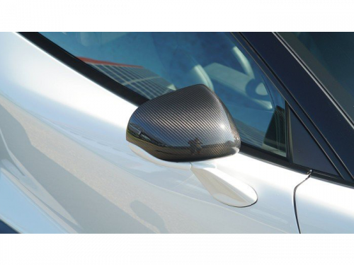 Novitec McLaren GT carbon fiber mirror covers in New York | Torrent Motorworks