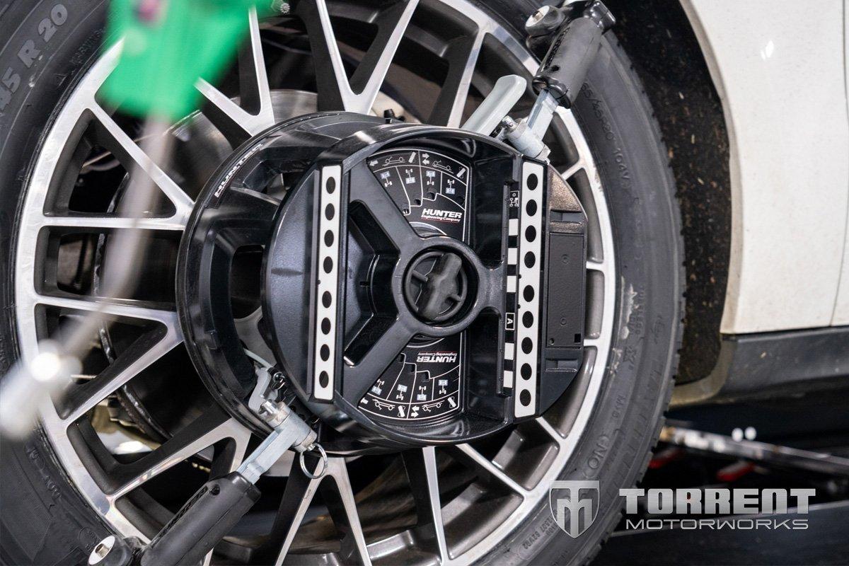 Porsche Macan alignment in Nyack, New York | Torrent Motorworks