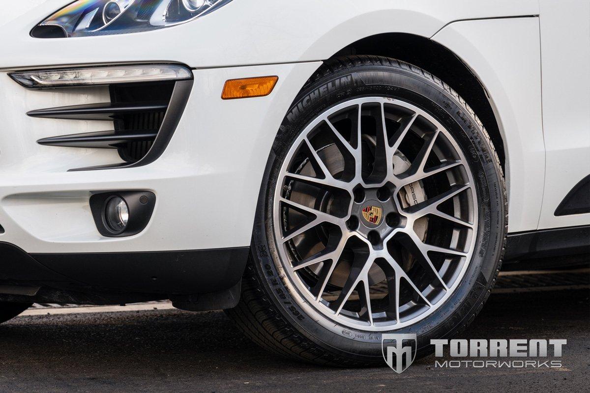 Lowered Porsche Macan H&R Sport Springs | Torrent Motorworks