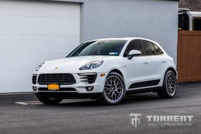 Porsche Macan H&R Sport Springs installed | Torrent Motorworks