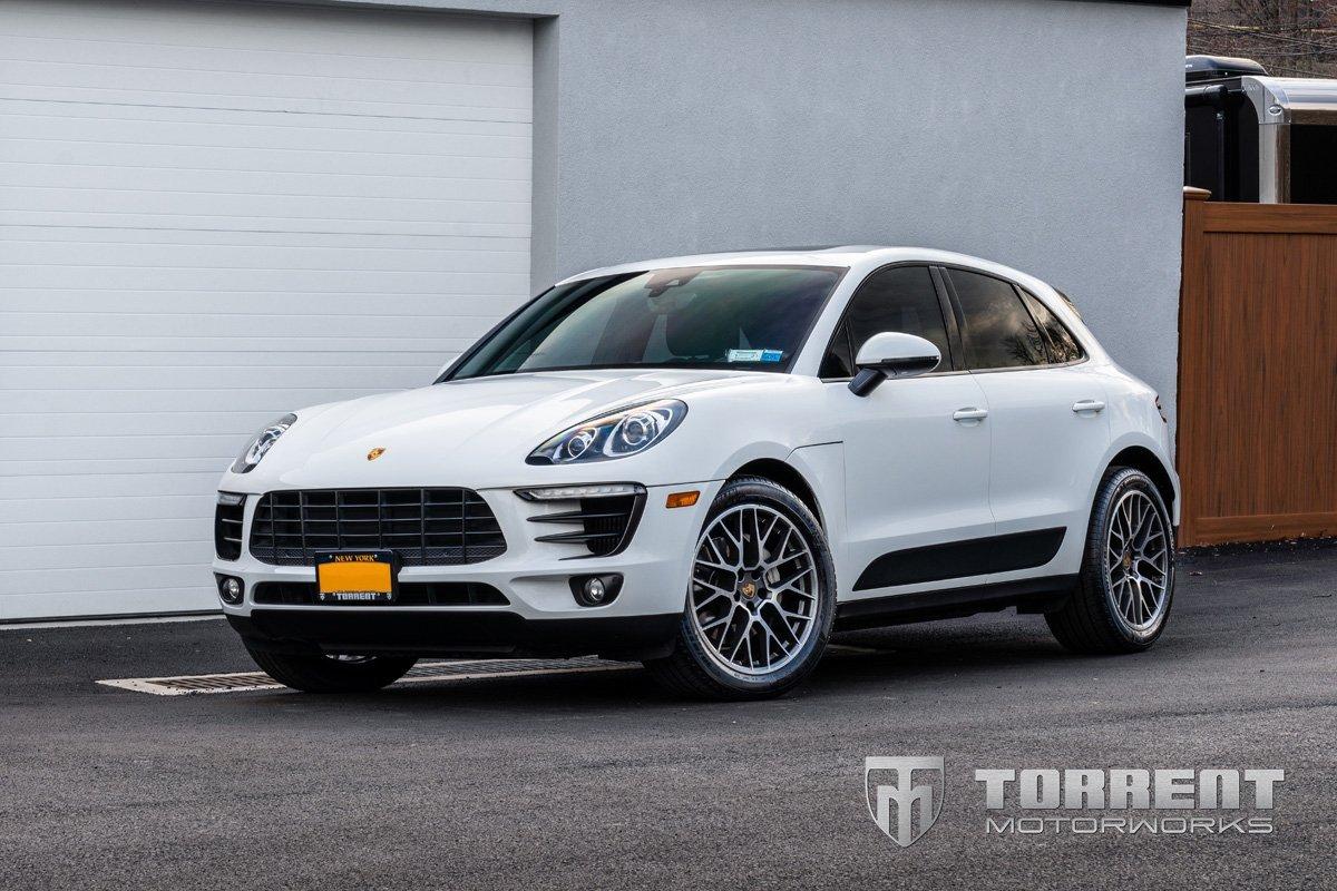 Porsche Macan H&R Sport Springs installed | Torrent Motorworks