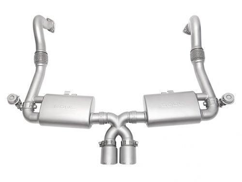 SOUL Performance Porsche 718 Boxster/Cayman valved exhaust | Torrent Motorworks