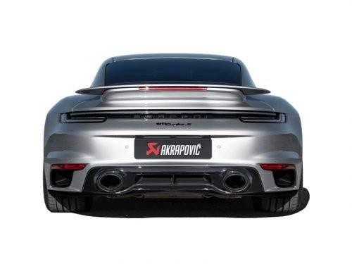 Akrapovic Slip-On Line exhaust Porsche 992 Turbo   Torrent Motorworks