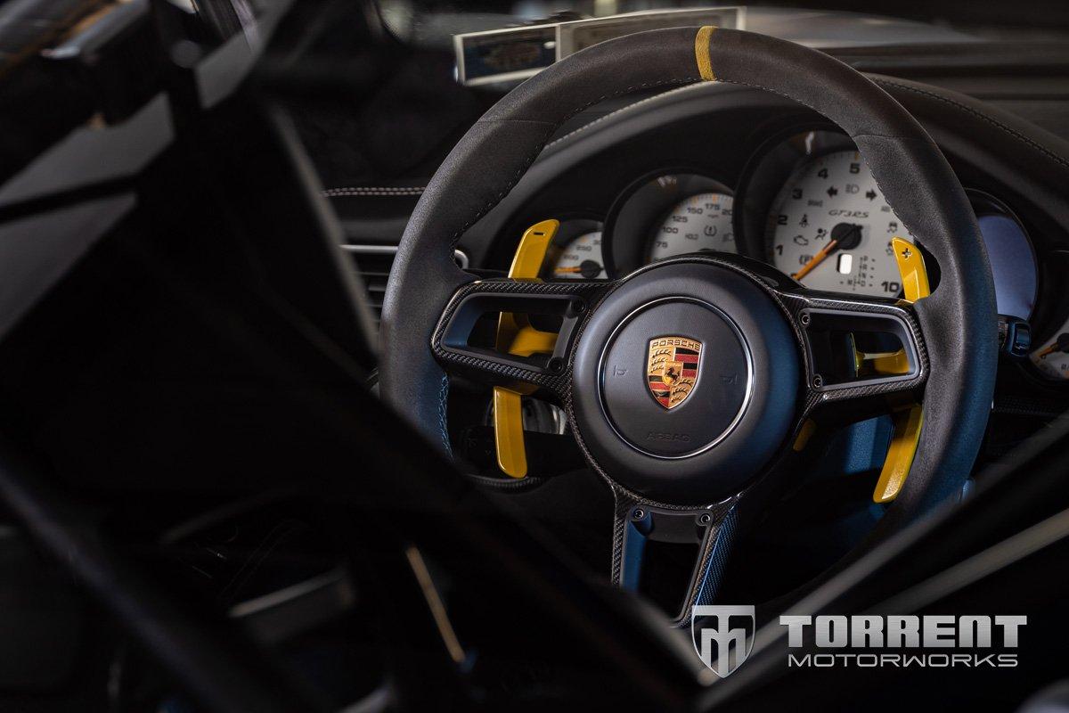 JCR Porsche billet aluminum paddles | Torrent Motorworks