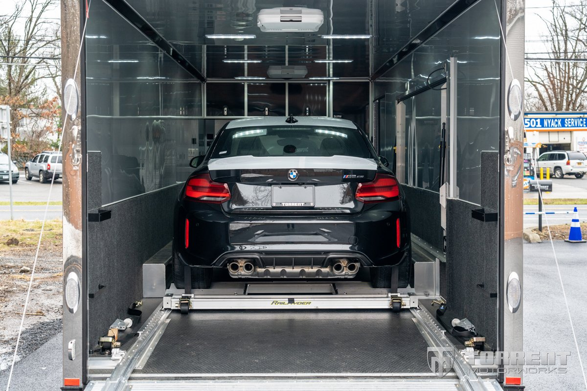 New BMW M2 CS delivery to Torrent Motorworks