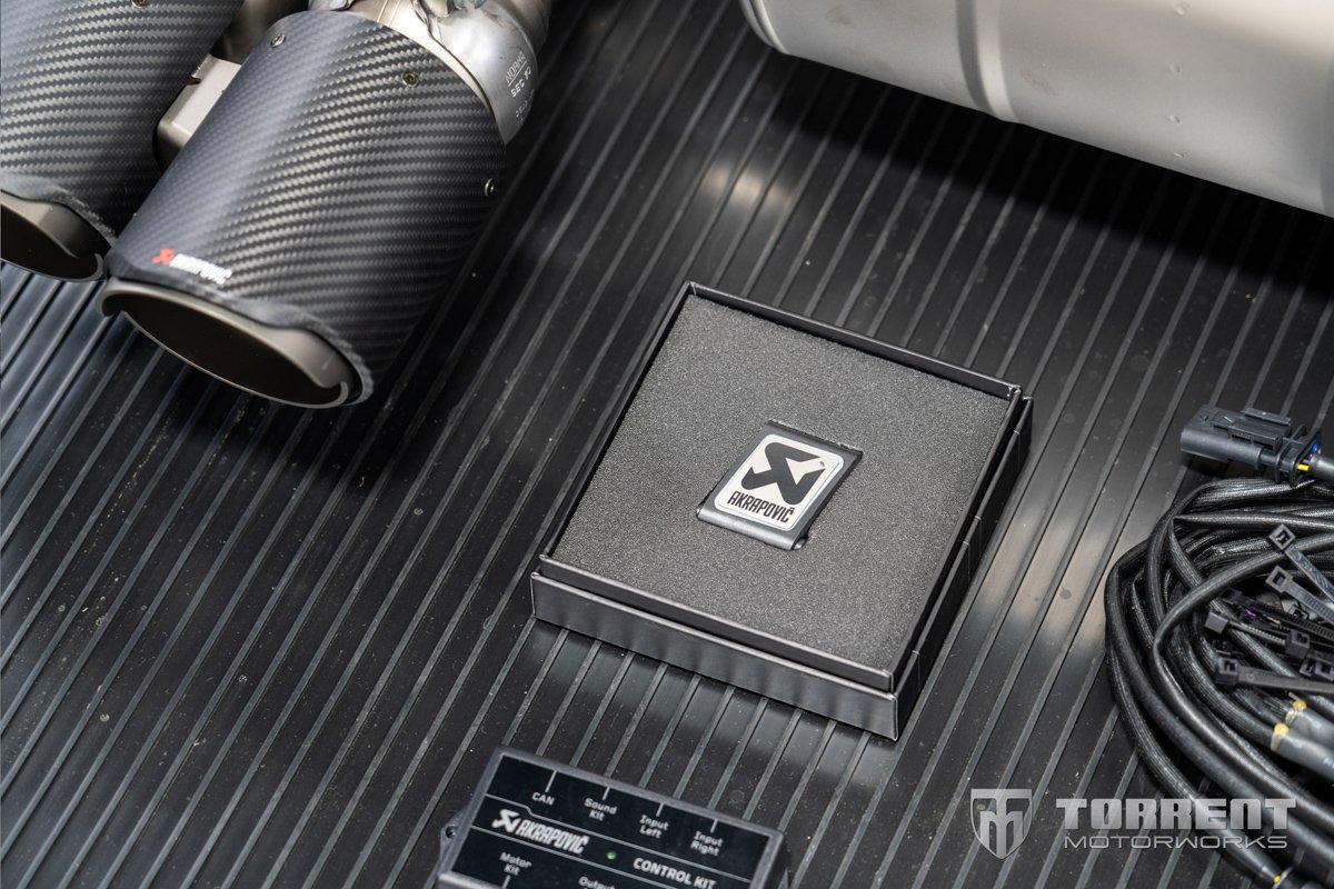 BMW M2 CS Akrapovic exhaust Sound Kit | Torrent Motorworks
