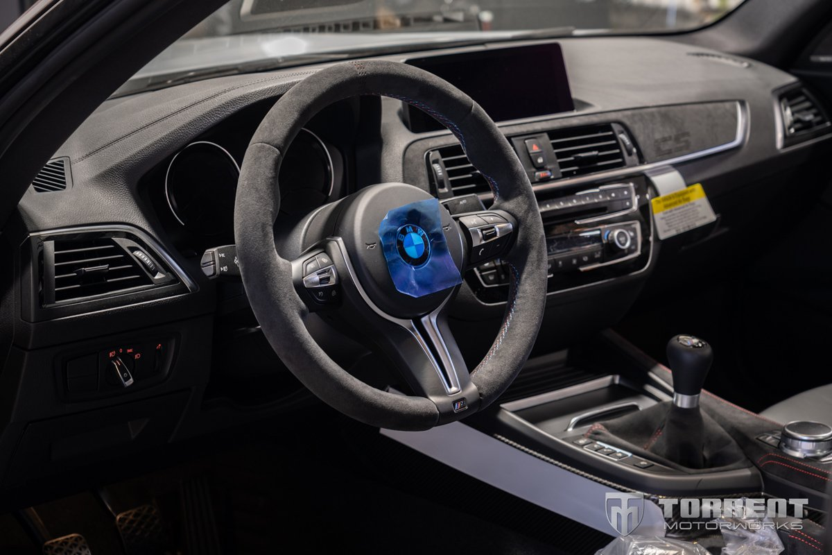 BMW M2 CS interior | Torrent Motorworks