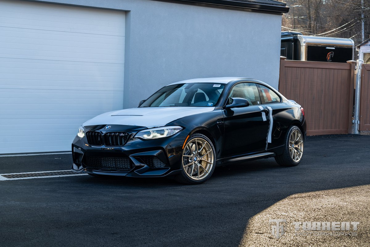 New BMW M2 CS with Akrapovic exhaust in Nyack, NY | Torrent Motorworks