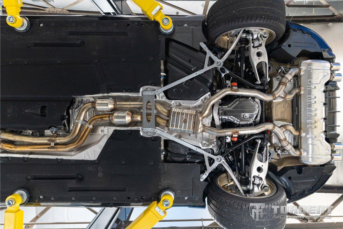 BMW M2 CS factory OEM exhaust | Torrent Motorworks