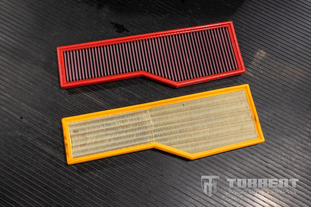 BMC Air Filters 997 Carrera   Torrent Motorworks