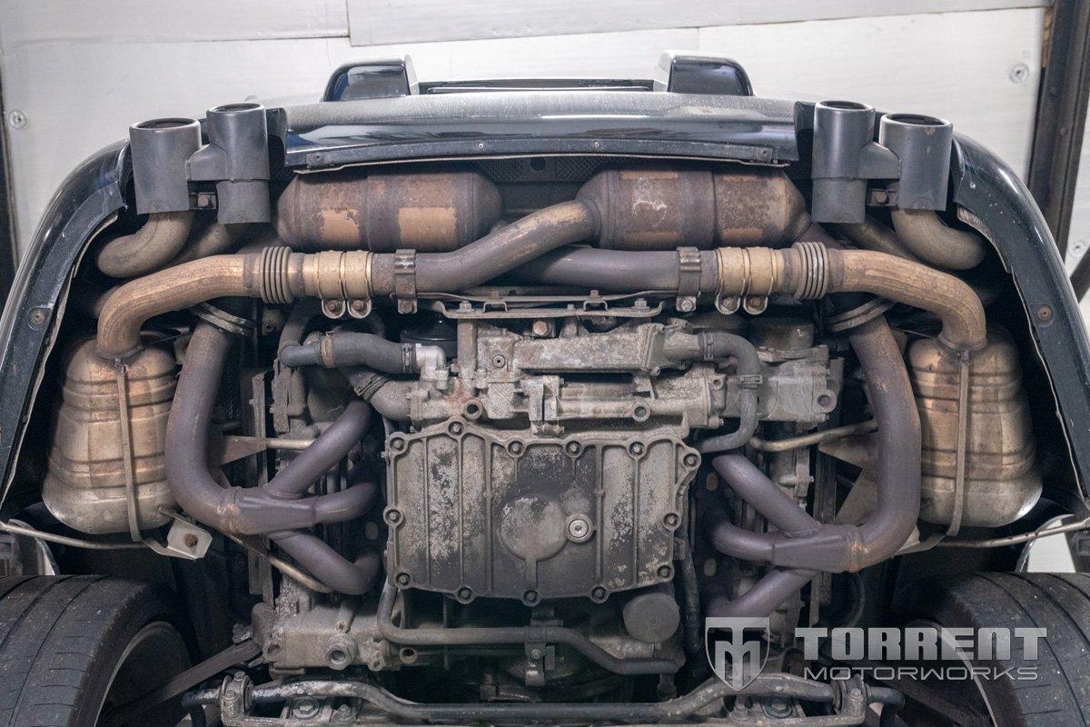 Porsche 997.1 Stock Exhaust   Torrent Motorworks