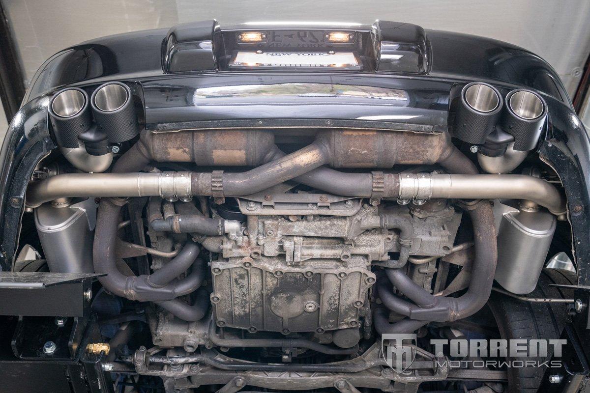 SOUL Performance 997.1 Valved Exhaust   Torrent Motorworks